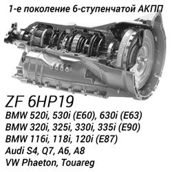 АКПП ZF 6HP19